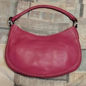 Ann Taylor Pink Pebbled Leather Purse, Like New!!!